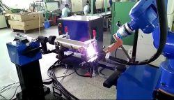 6 Indústria de eixo para tornos CNC do robô carregando, arco de solda, corte, estampagem, polimento e revestimento de pulverização, Colagem e trituração