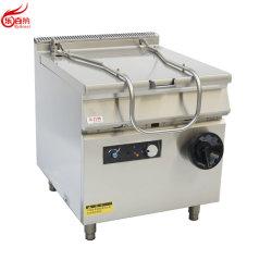 غلاية كهربائية قابلة للإمالة تجاريّة عالية الجودة سعة 60 لترًا في حالة من الستانلس ستيل الفولاذ (7E-TS)