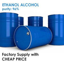 エタノールのEthlyバルクアルコールCAS 64-17-5の96%のエタノール