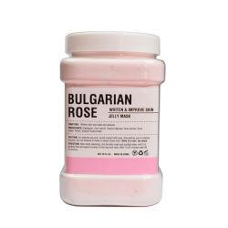 El Blanqueamiento de venta al por mayor mejora de la película de suaves pétalos de rosa SPA Mascarilla facial de gelatina en polvo