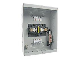 Tye 4 vías, Centros de carga Modularenclosures tapón en el Disyuntor 120/240V 1P 3W Tablero de control