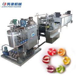 China Venda Quente Full automatic Hard Candy Depositando a linha de produção
