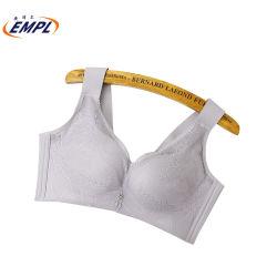 鋼鉄リングの快適な、通気性の薄い下着のない側面の最後の側面胸