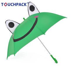 Animal lindo colorido paraguas para niños de la oreja