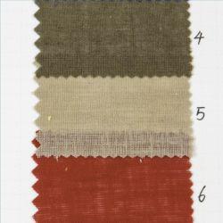 標準的な45%衣服ファブリックのための織物55%の麻布の綿の平野によって染められるファブリック