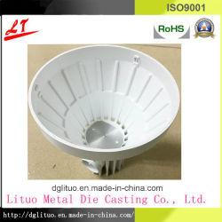 Common Matériel utilisé en alliage en aluminium moulé sous pression de l'ombre de la lampe d'éclairage LED