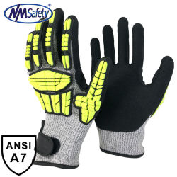Nmsafety Oil & Gas, mijnbouw industrie EN388 4544fp Anti Impact and Cut Resistant Glove