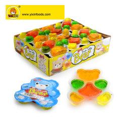 상자 패킹 과일 액체 묵 사탕