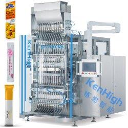 Automatische vielbahnige Kaffee-Milch-Puder-Zuckerkakao-Stock-Satz-Verpackungs-Maschinerie