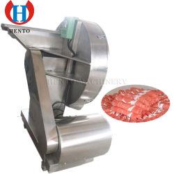 Funcionamiento sencillo ahorran trabajo 800-1000kg/hora de la capacidad de carne de pollo congelado Flaker / máquina cortadora de carne congelada