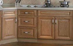 Solide Wooden Kitchen Cabinet