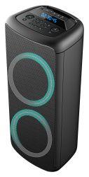 2020 Nuevo diseño de 10 pulgadas de doble privado Bluetooth de alta potencia de la batería de plomo ácido altavoz PA radiocasete con luz LED RGB ED-1006 Proveedor