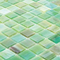 Les matériaux de construction de la piscine de carreaux de la frontière italienne vert Mosaïque de verre