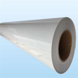 Glattes selbstklebendes Vinylpapier Belüftung-100mic für großes Format-Drucken