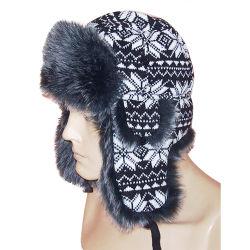 毛皮(VT029)が付いている方法冬の帽子