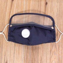 Occhio di plastica Shiled nebbia Integrated protettiva adulta della mascherina dell'anti e mascherina degli occhiali di protezione di Earloop della maschera di protezione di modo