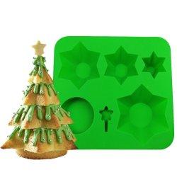 كعكة عيد الميلاد Silicone كعكة الخبز كعكة عيد الميلاد أداة الطبخ الشوكولاته القديمة آيس سوجاركرافت