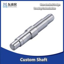 Precisie-draaibank frezen en slijpen van legering rechte as voor motor/apparatuur CNC aandrijfas energie auto reserve