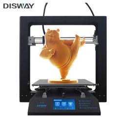 Disway hohe Präzisions-schneller Druckgeschwindigkeits-Metallrahmen-beweglicher Drucker 3D