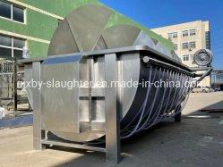 Terminer l'abattage de bovins de l'abattoir en abattoir Halal la ligne de la machine avec le fabricant de plate-forme