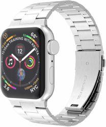 A Apple Assista a banda de aço inoxidável bracelete 38mm 42mm 40mm 44mm Iwatch Três Aço fino Relógio desportivo Band