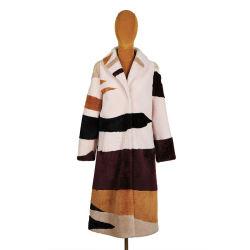 Nouveau design de gros pardessus 2020 Long Style femmes Manteau de laine de laine