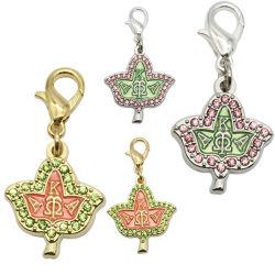 2020 de Kunstmatige Juwelen van de Toebehoren van de manier 925 Zilveren Charmes van de Tegenhanger DIY van het Metaal van de Douane 18K Goud Geplateerde voor Armband/Necklance met de Stenen van Diamanten (charme-01)