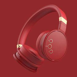 마이크 및 볼륨 컨트롤 기능이 있는 헤드폰 접이식 무선 가전 제품 Bluetooth 헤드셋