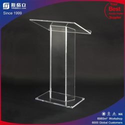Custom Podium en plexiglas transparent tribune de l'acrylique Église Chaire Lutrin