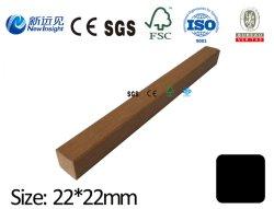 Pero da Decking WPC 22x22mm WPC Keel legno composito in plastica per Decking/pannelli da parete ecc. con SGS CE FSC ISO Lhma132