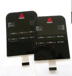 Трафаретная печать графических наложение объектив акриловые панели сенсорного экрана