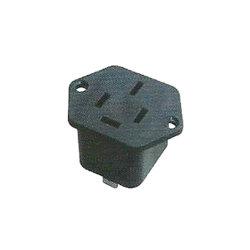 Ib-671 AC 110V 3Pinos de Montagem do Painel de Tomada de Alimentação Conecte o soquete do conector de energia do adaptador
