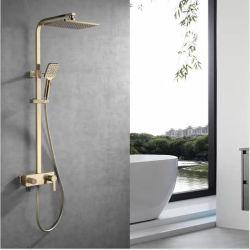 Banho de aço inoxidável para montagem na parede chuveiro Rainfall torneira