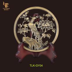 황동 조각판 장식품 럭셔리 홈 장식
