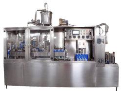 Semi-automático Gable Top vino de cartón de huevo batido de leche de mezclas de bebidas Máquina de Llenado Aséptico