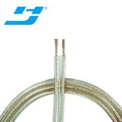 El cable del altavoz Cable calibre 14 aislante transparente de alta calidad Audio Car
