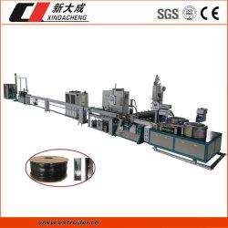 350m de pared delgada de alta velocidad del tubo de riego por goteo plana de la línea de producción