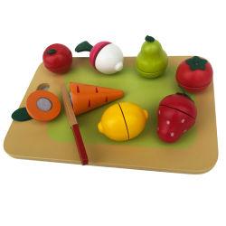 Stuk speelgoed van de Vruchten van het Spel van de scène het Houten Scherpe