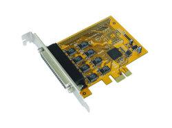 8 порт PCI Express платы адаптера последовательного порта RS232 с 16950 UART