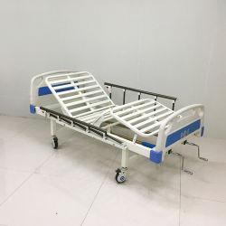 Venda por grosso de fábrica Manual ABS Trepidação Duplo Cama de Enfermagem de Dupla Função multifuncional de cama médico paciente idoso cama de hospital