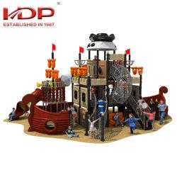方法様式の海賊船の大きい子供の販売ASTM/TUV/GS/ISO9001のプラスチックゲームのための屋外の運動場のスライド装置