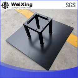 블랙 알루미늄 구조 프리마블케이트 알루미늄 배너 트러스 및 베이스