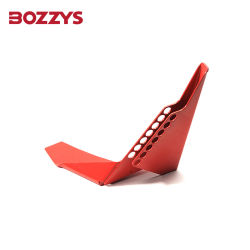 Bloqueo de válvula de cierre de válvula de bola de acero Bozzys bloqueo de seguridad de válvula de compuerta