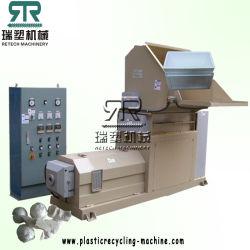 Espuma de plástico Máquina de compactação EPE PPE EPS Reciclagem
