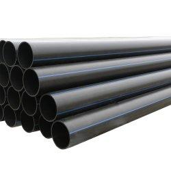 Tuyau d'eau en polyéthylène haute densité PE100 HDPE de taille SDR26/SDR21/SDR17/SDR13.6/SDR11 Tuyau de raccordement en PE-HD à tube de Ø De20-1200mm
