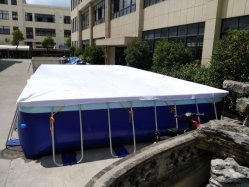 Dfspo aufblasbare Wasser-Geschwindigkeits-einfacher Set-Swimmingpool-Hersteller