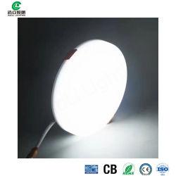 Haoli Light China 18 W LED Panel Light LED Panellight Recned Plafonnier rond Fabricant IP53 Eclairage de panneau LED réglable