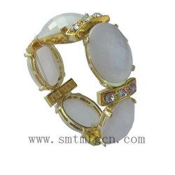 Schmucksachen Armband-Metal mit Resin Stones Bracelet (BL0982)