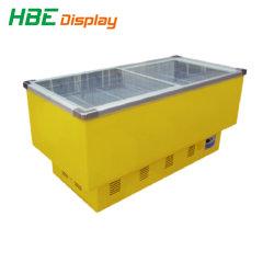 슈퍼마켓 냉장 장비 상업용 디스플레이 아일랜드 냉동고