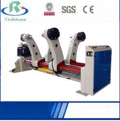 Cartón corrugado cartón hidráulica Máquina de hacer un rollo de papel (Shaftless)